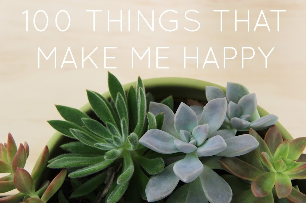 100-things-that-make-me-happy