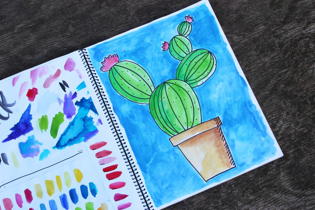 cactus-painting